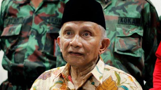 Tiga Megaproyek Dibangun, Amien Rais: Indonesia Dijajah Ekonomi Asing