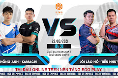 18h30 ngày 29/3, Hồng Anh - Kamachi Love vs Tiễn Như Vũ - Lôi Lão Hổ: lại một bài toán nâng cao!