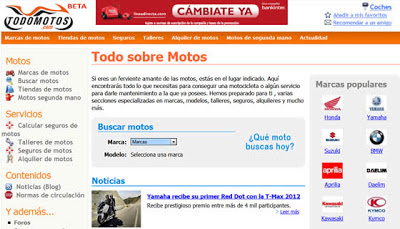 Todomotos.com el portal sobre el mundo de las motos