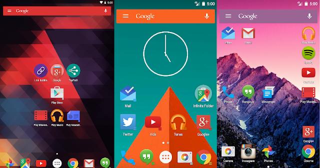 Top 5 Best Android Launcher Terbaru Tahun 2016