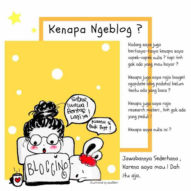 kenapa-ngeblog