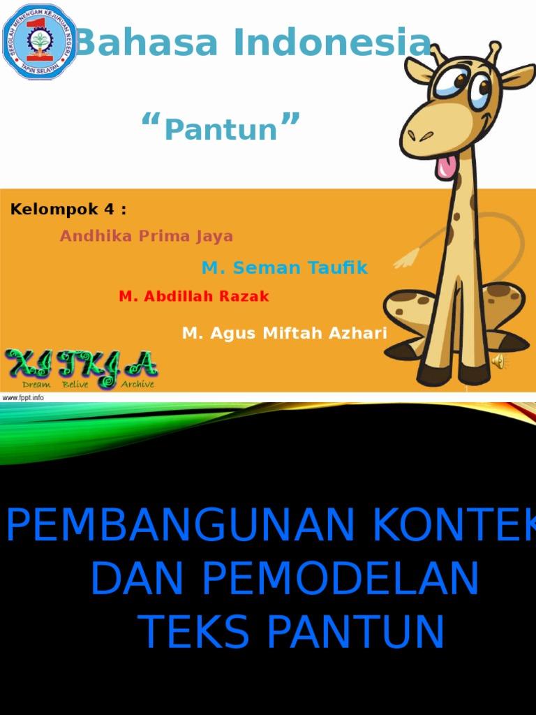 pantun perkenalan - wood scribd indo