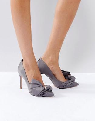 zapatos de tacon corrido