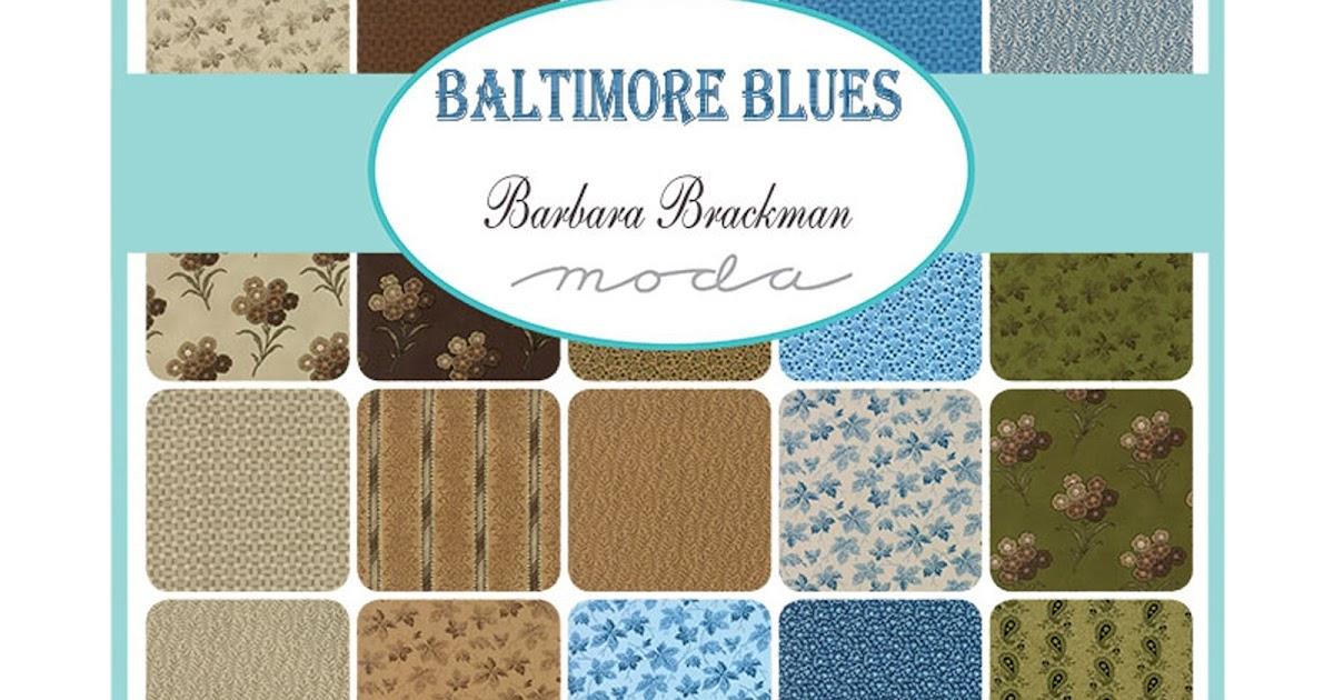 Crazy Quilt Girl Fabric Shop Moda Baltimore Blues Fabric