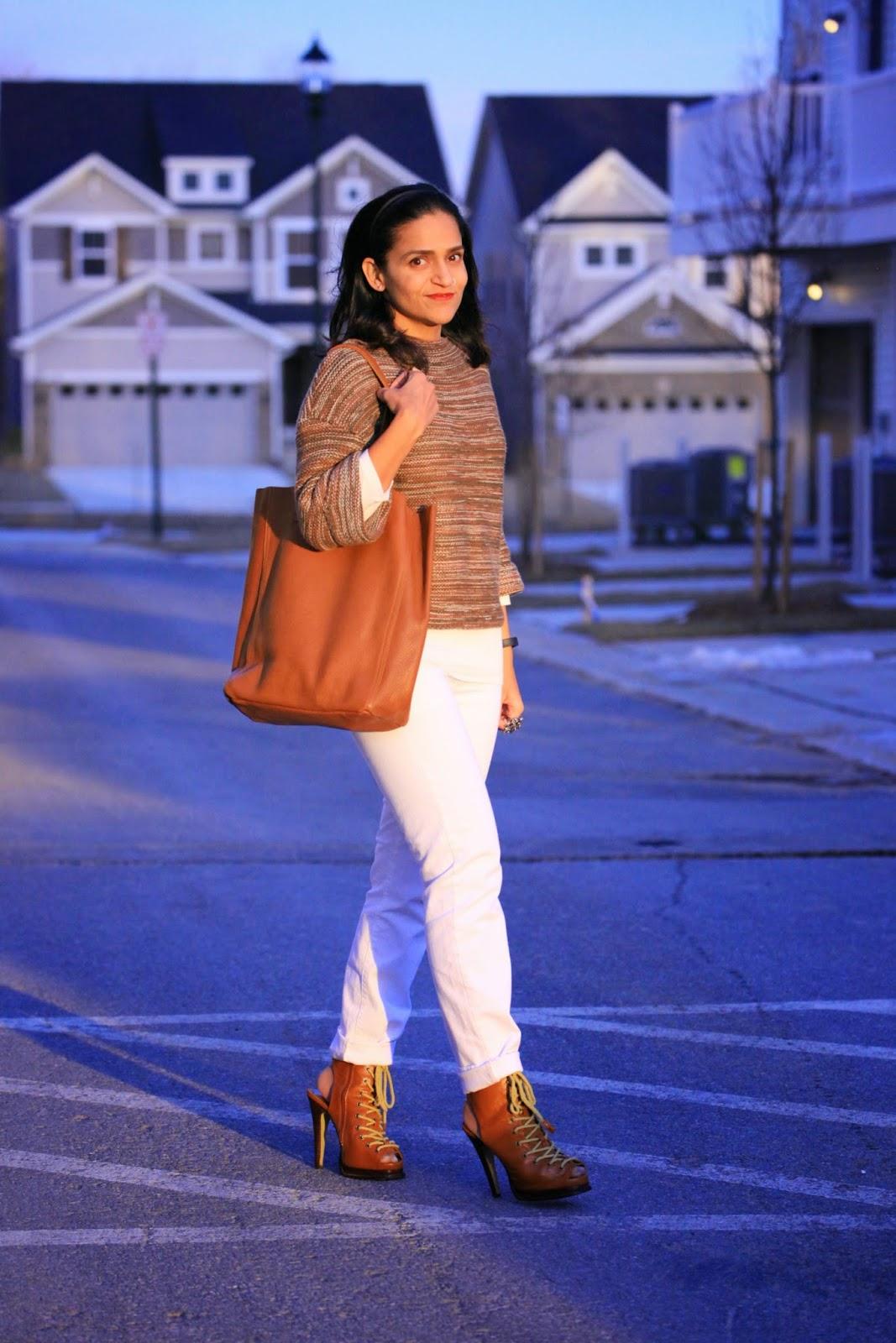 Sweater - GAP Jeans - GAP Shoes - ASOS Bag - Cuyana Tanvii.com