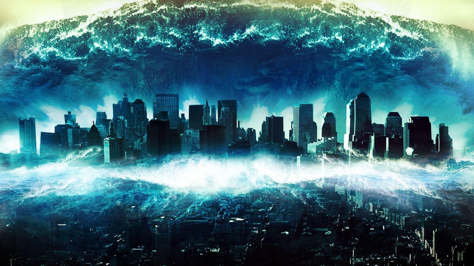 Giant Tsunami Movie In