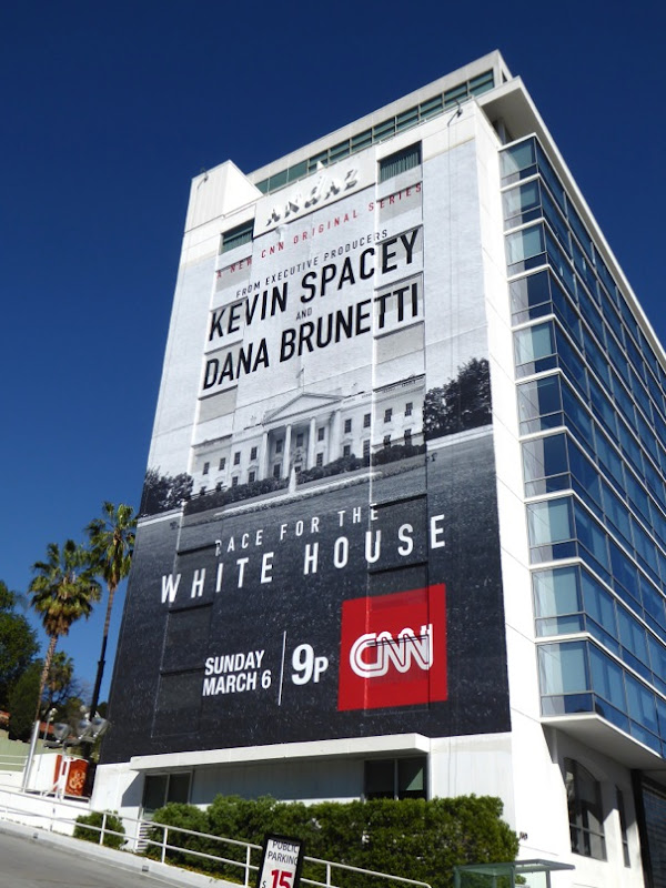 Race for the White House series premiere billboard