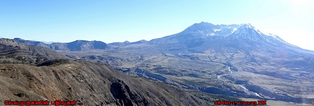 Hiking to Mount St. Helens