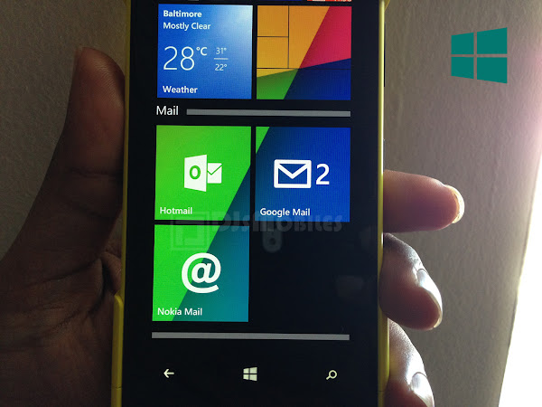 Live Folders on Windows Phone 8.1 Update 1