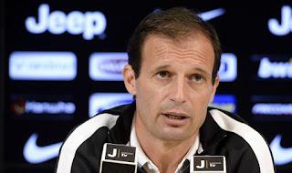 Juventus Sampdoria conferenza stampa Allegri video Serie A