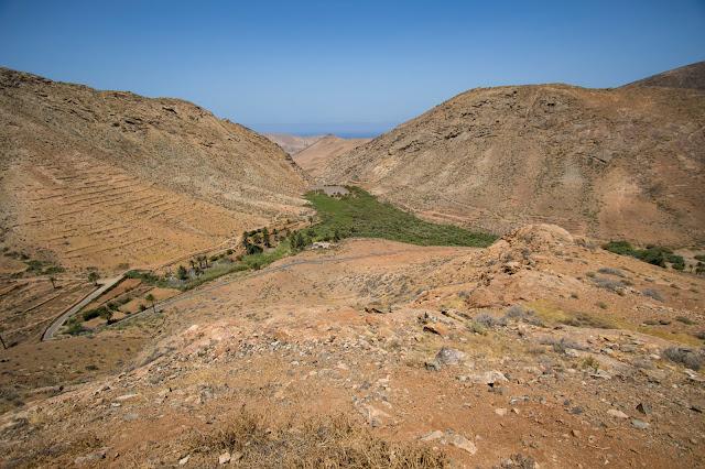 Punto panoramico vicino a Vega de Rio Palma-Fuerteventura