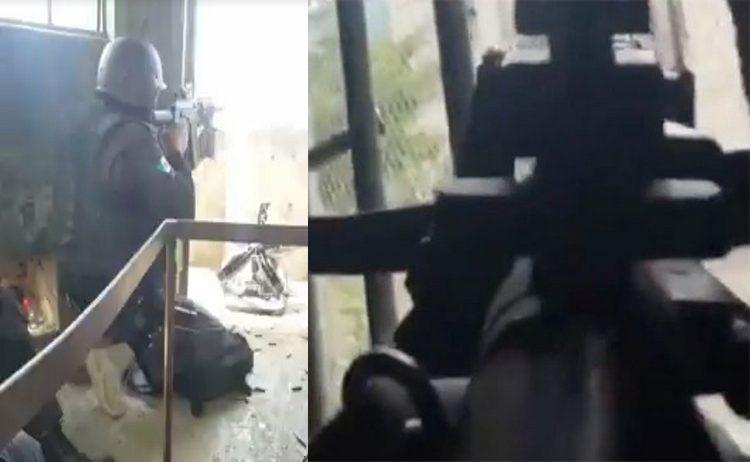 VIDEO: ASI SE ENFRENTARON  POLICÍAS FEDERALES CONTRA REOS DEL PENAL DE CD. VICTORIA.