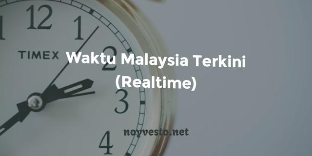 Waktu terkini di malaysia (realtime)