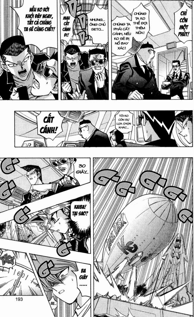 YUGI-OH! chap 278 - một cuộc hành trình mới trang 6
