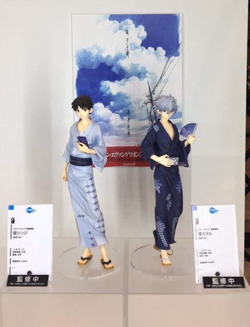 Shinji y Kaworu 1/8 de Evangelion