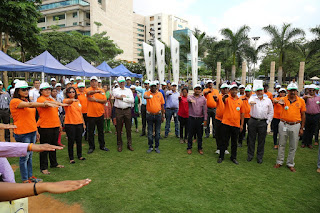 Embassy Office Parks users taking a pledge to conserve environment