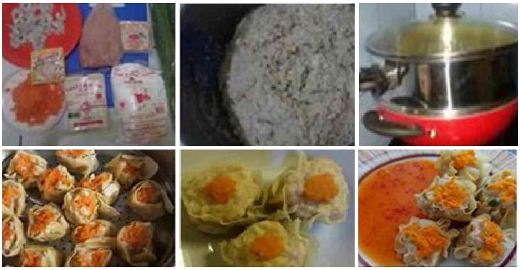 Resep Membuat Siomay Daging Ayam Udang, Praktis dan Enaaak
