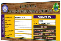 Download Buku Kas Umum ( BKU ) Untuk laporan BOS Format Excel.Xls