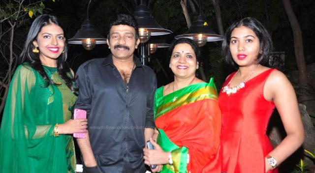 Jeevitha Rajasekhar Family At Bar Opening In Madhapur