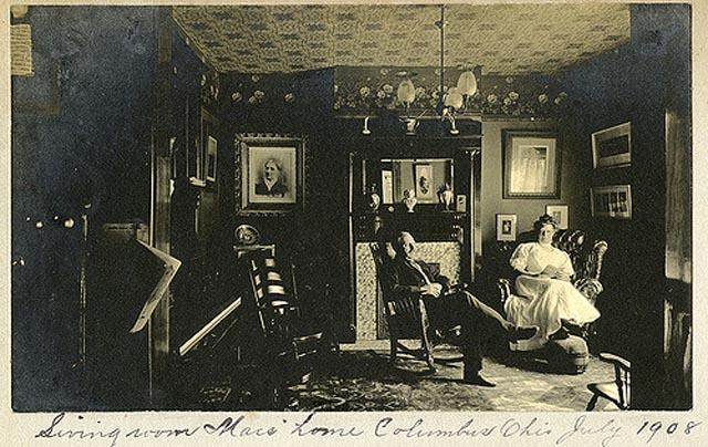 Victorian-Edwardian Living Room: 36 Interesting Vintage ...
