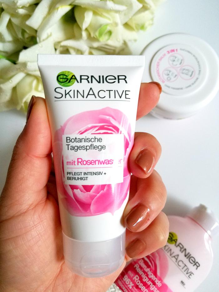 Review: Garnier - SkinActive Rosenwasser Hautpflege Tagespflege
