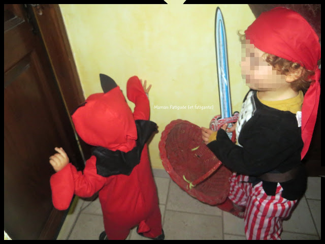 pirate et diable halloween