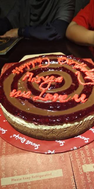 Aisya Nur Safeeya, Aisya turn 11, sambutan birthday,