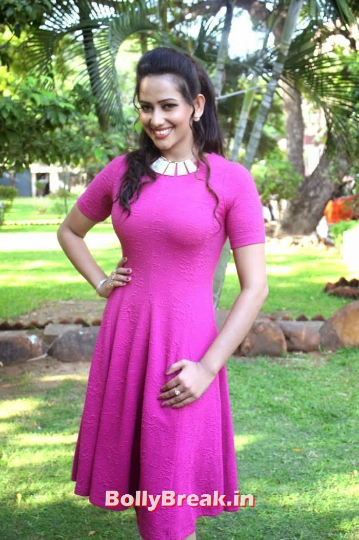 , Sanjana Singh in Pink Dress - Hot Images