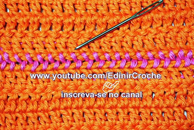 Edinir Croche ensina como costurar crochê do jeito certo