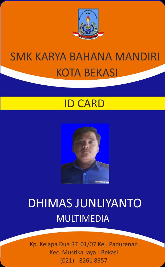Contoh Id Card Lokerteen