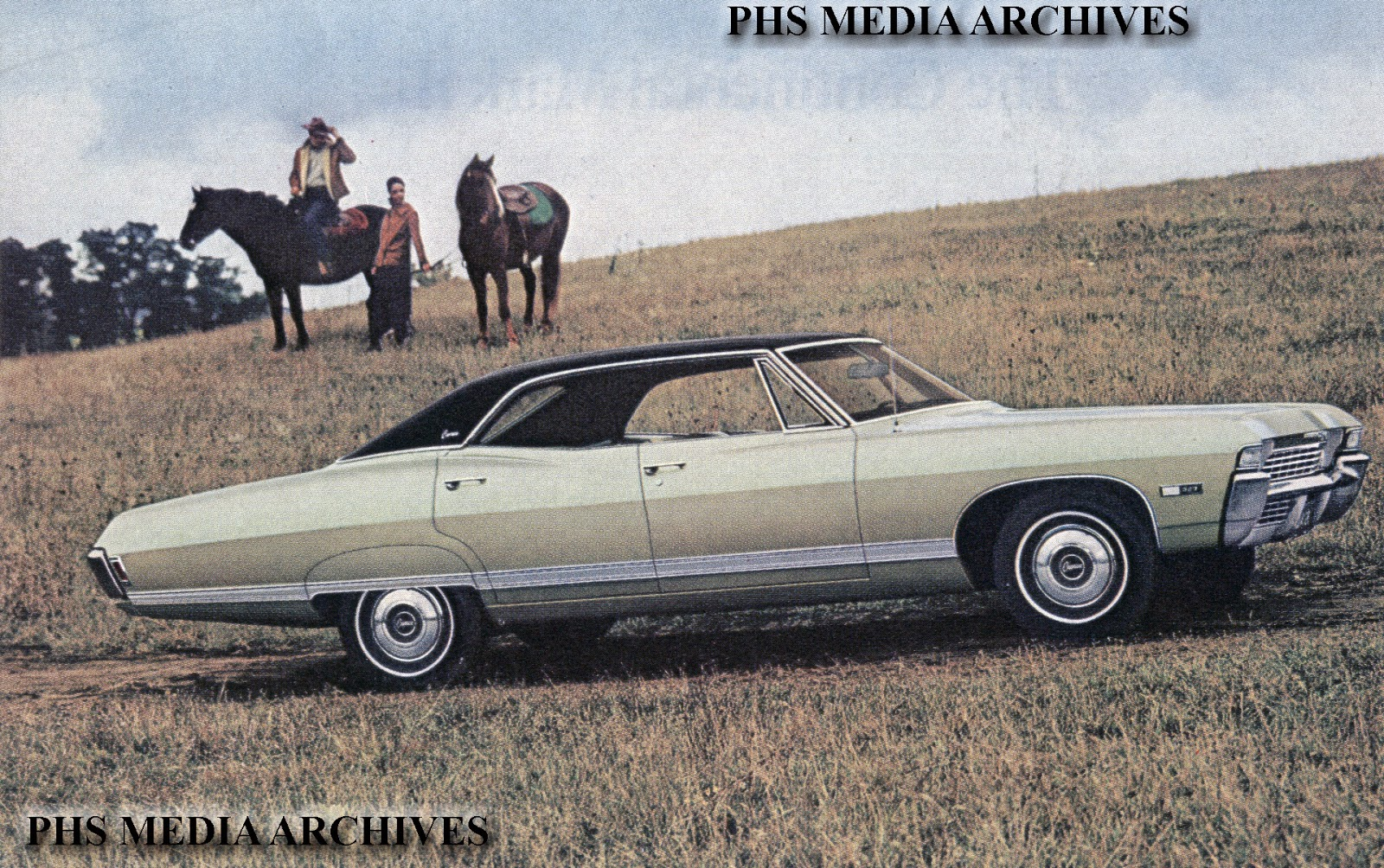 Used for two years in 1968-1969 full size Chevies like this Caprice  Classic, the headlamp door system was sleek but in field service woes  terminated ...