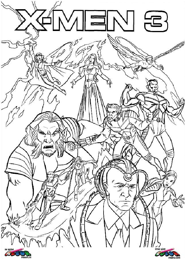 Desenhos do x men para imprimir e colorir for X men coloring pages