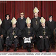 SIX ROMAN CATHOLICS ON THE SUPREME COURT!
