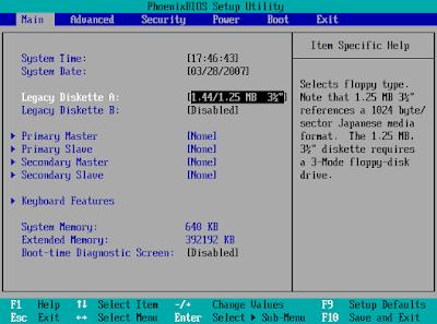 Kumpulan Tombol Booting Laptop Semua Merek Asus, Acer, Lenovo, Toshiba dan Dell