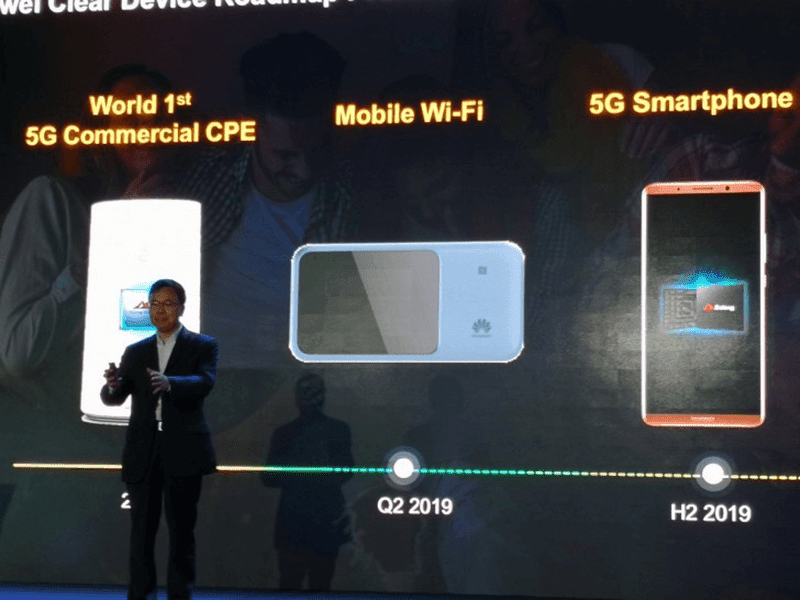 Huawei to launch its first 5G phone in 2H 2019!