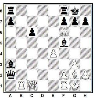 Posición de la partida Zottek - Zolnierowicz (Polonia, 1991)