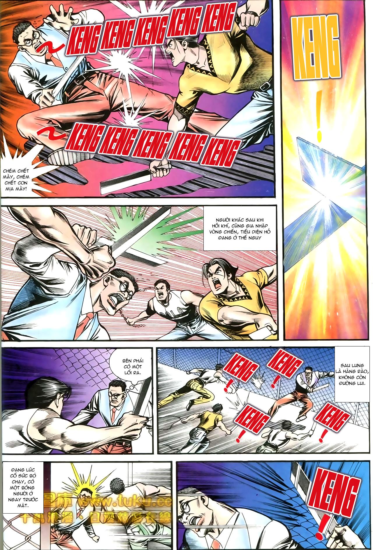 Người Trong Giang Hồ chapter 197: quạ đen báo thù trang 12