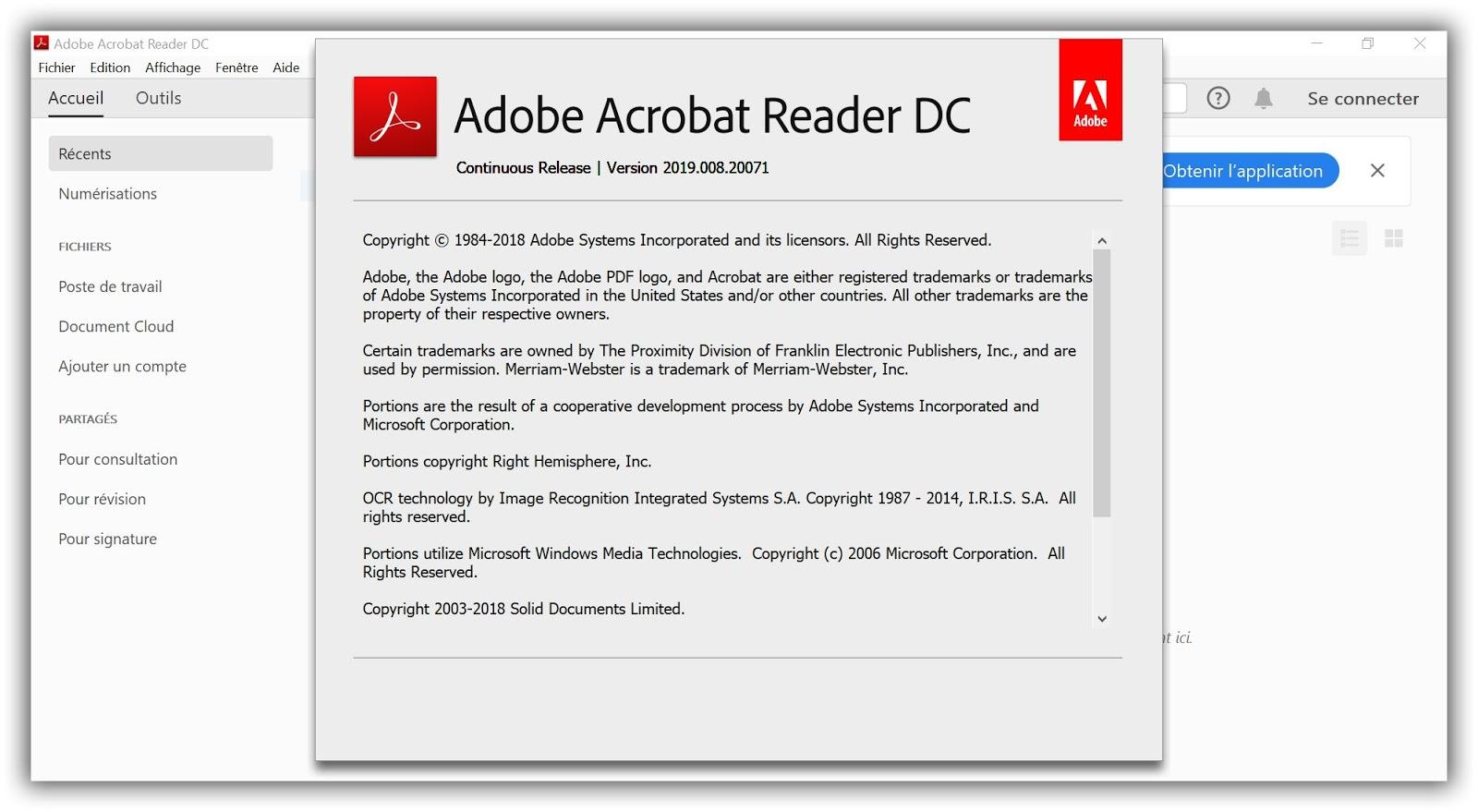télécharger gratuitement acrobat reader pour windows 10