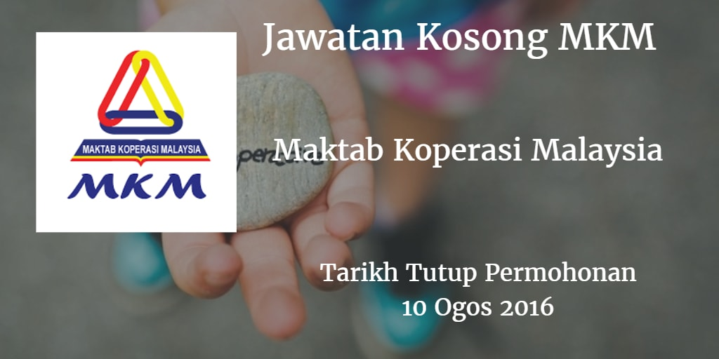 Jawatan Kosong MKM 10 Ogos 2016