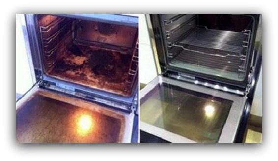 Limpia el horno f cilmente bricomaniacos - Como limpiar el horno ...