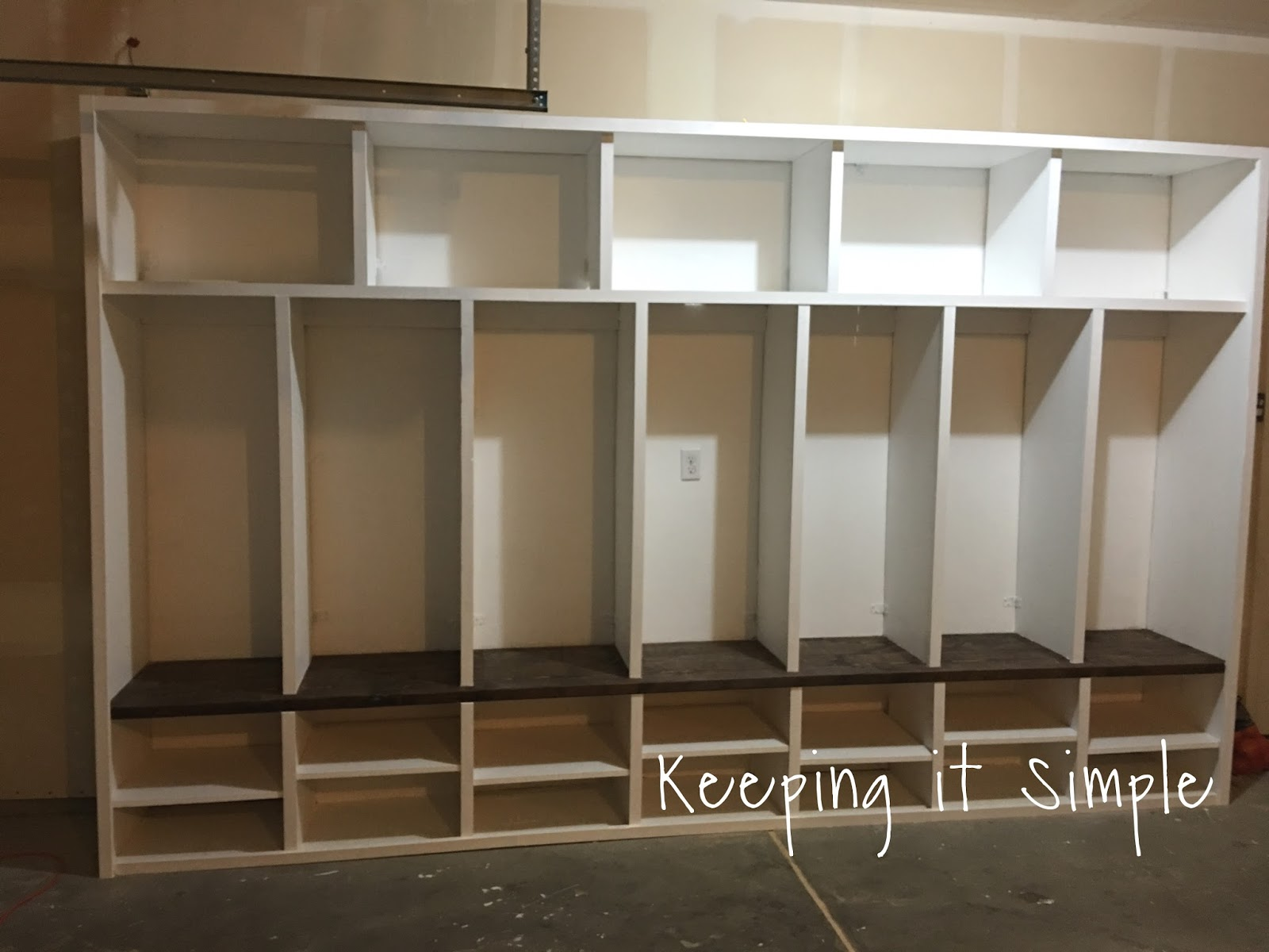 keeping it simple diy garage mudroom lockers with lots of garage mudroom designs design your own laundry room