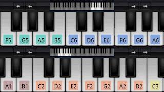 تحميل برنامج البيانو الجديد للأندرويد Perfect Piano