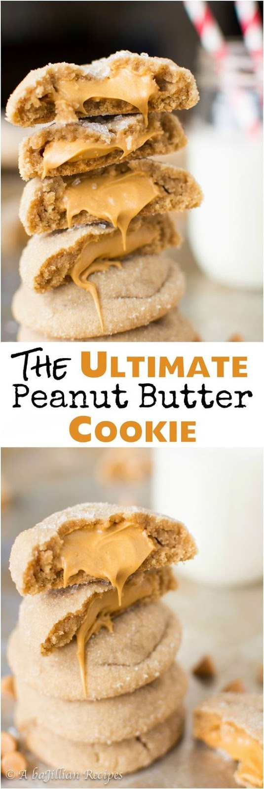 THE ULTIMATE PEANUT BUTTER COOKIE