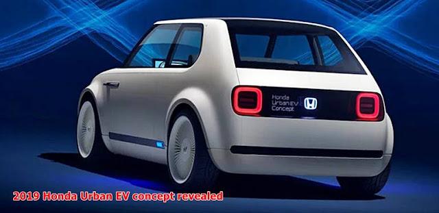 2019 Honda Urban EV concept revealed