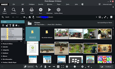 Magix Photo Manager 16 Deluxe Screenshot