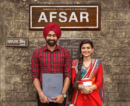 Poster Of Punjabi Movie Afsar 2018 Full HD Movie Free Download 720P Watch Online