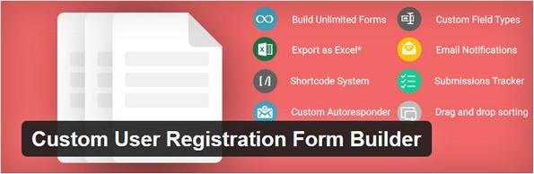 Extension for user registration form