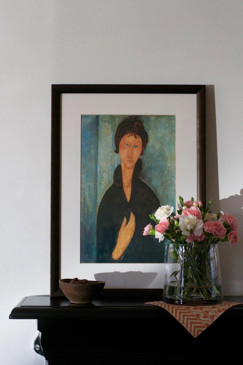 Modigliani í morgunbirtunni · Lísa Hjalt