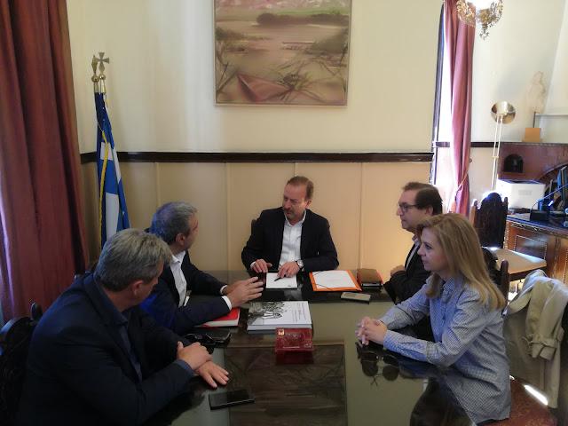 Γιάννενα: Συνάντηση του δημάρχου με τον υπουργό Επικρατείας Χριστόφορο Βερναρδάκη