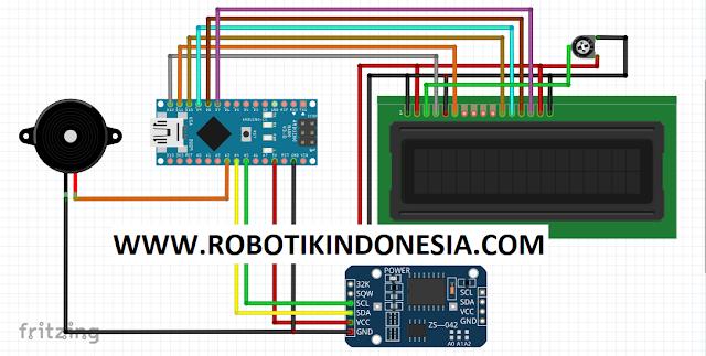 Membuat Alarm Sahur Menggunakan Arduino Nano + RTC DS3231 | Arduino Project